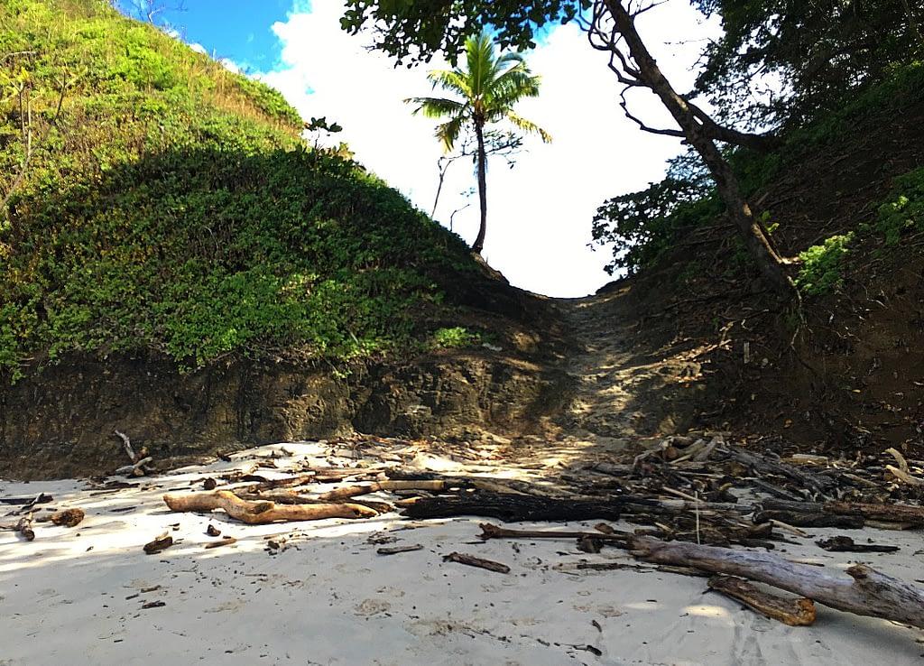 Playa Blanca shortcut