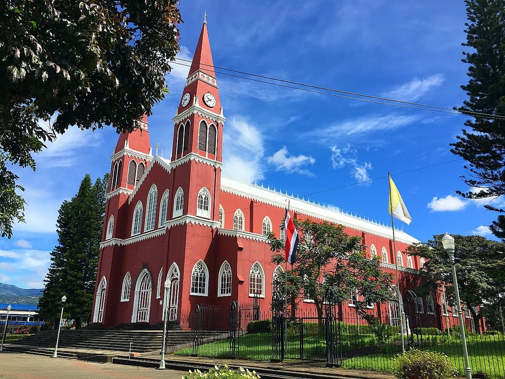 Grecia Costa Rica church