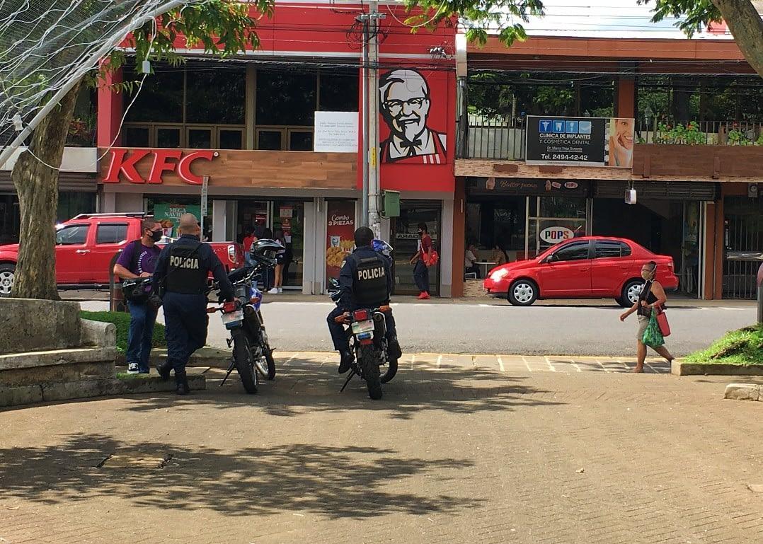 Costa Rica policia