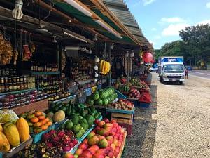 Orotina fruit stand